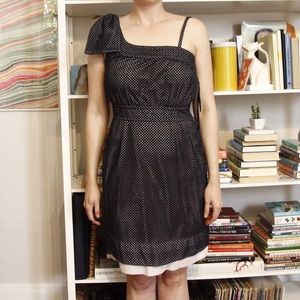 Marc by Marc Jacobs black eyelet dress 6